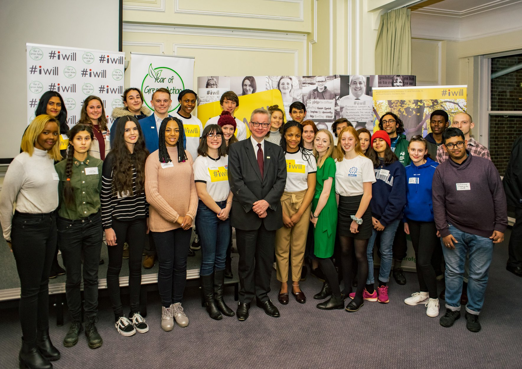 Gove kicks off the year of Green Action